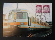 BERLIN MK 1985 495 EISENBAHN ET 420 MAXIMUMKARTE NÜRNBERG MAXIMUM CARD MC c7503