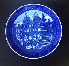 Estate Item-Royal Copenhagen 2009 Christmas At Amagertorv Plate Nib