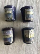 Lot/4 YANKEE CANDLE Sampler - SEASIDE HOLIDAY - Votive Samplers - 1.75 oz
