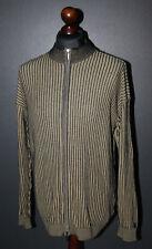 Carlo Colucci mens wool full zip jumper jacket Size 56