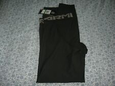 BNWT MENS UNDER ARMOUR HEATGEAR COMPRESSION LEGGINGS GYM RUNNING LARGE BLACK