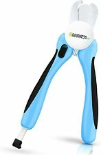 Dog Nail Clippers Large Breed w Safety Guard, Nail file, Works on All Sizes Pets