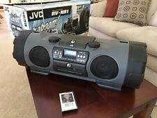 JVC RV-NB1 AM/FM stereo cassette CD kaboom boombox CLEAN!