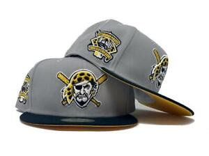 PITTSBURGH PIRATES 1904 ALL STAR GAME YELLOW BRIM NEW ERA FITTED HAT size 7