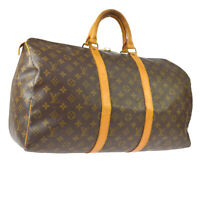 LOUIS VUITTON KEEPALL 50 TRAVEL HAND BAG PURSE MONOGRAM M41426 SP1901 A48810