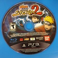 Naruto Shippuden: Ultimate Ninja Storm 2 (Sony PS 3, 2010) Disc Only # 14518
