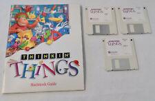 Thinkin Things Kids Learning Games Macintosh Floppy Discs Vintage Edumark