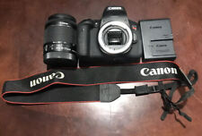 Canon EOS Rebel T6i 24.2 MP Digital SLR Camera EF-S with 18-55mm Lens and Bag