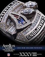 NFL AMERICA'S GAME: PATRIOTS (SUPER BOWL XXXVIII) - DVD - Region 1 - Sealed