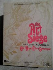 SPI Avalon Hill The Art of Siege In Perfect Condition MIOB