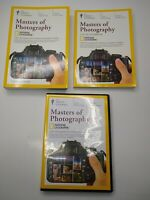 Masters Of Photography National Geographic By The Great Courses Book And DVD Set