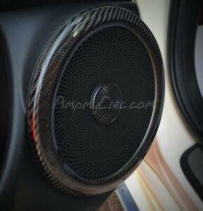 Civic 2006-12 MK8 Speaker Ring Covers - Carbon fibre FN2 TYPE R