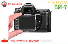 NIKON BM-7 Hard LCD Monitor Cover Screen Protector BM7 for Nikon D80 UK Sale