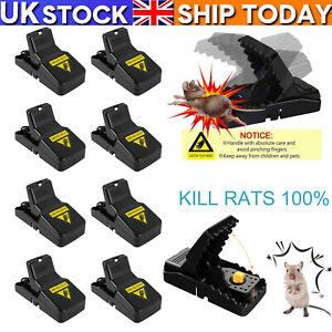 Mice Mouse Traps Plastic Trap Mousetraps Catcher Killer Pest Control Reusable UK