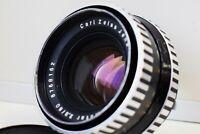 RARE ZEBRA Carl Zeiss Jena DDR Biometar 80mm f/2.8 Medium Format Pentacon Six