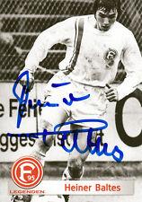 Heiner Baltes, Fortuna Düsseldorf , DFB Pokal 1979 original signiert/signed !!!