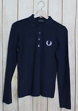 POLO DONNA MADE IN ITALY - FRED PERRY - TG. M - WOMAN'S T-SHIRT POLOSHIRT #1044