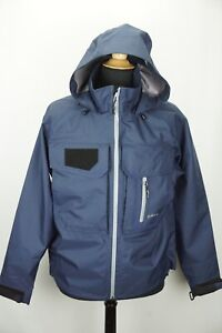 Orvis Wading Jacket Fly Box Pocket Hood Waterproof Fly Fishing M NEW W/o tags