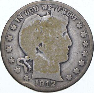 1912-D Barber Half Dollar - TC *565