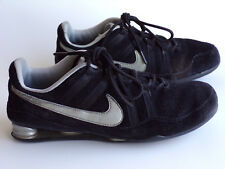 7fc6cff5b90005 VTG Nike Shox Black Suede Retro Sneaker Running Walking 314854 002 Womens  US 7.5