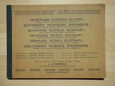 1939: Ströme, Flüsse, Kanäle. Illustriertes technisches Wörterbuch