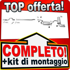 Scarico Completo SEAT LEON (1P1) / SEAT ALTEA 1.4 TSI +Tubo e Marmitta T89