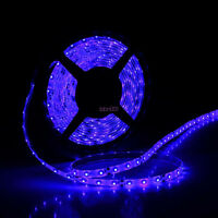 Waterproof Flexible Blue 12V 5M 3528 SMD 300 Leds LED Strip Light For Car Boat