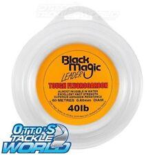 Black Magic Tough Fluorocarbon Leader (40 lb.) BRAND NEW at Otto's Tackle World