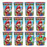 Amscan Super Mario High Quality Reusable Birthday Party Cups