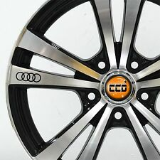 Audi aleación / Rueda calcomanías-Stickers A1 A3 A4 A6 A8-X6 Graphics!