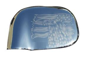 DODGE RAM MIRROR COVERS (CHROME) GHOSTING W/AMERICAN FLAG/EAGLE 02-08