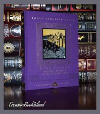 King Arthur & Knights of the Round Table Illustrated New Ribbon Deluxe Hardcover