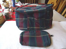 """Vintage Multi-Purpose Carry All Bag With Pocket Book """" BEAUTIFUL SET """""""
