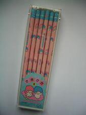 1983 Sanrio Little Twin Stars 12 Pencil in Case # 2