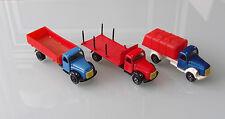 Konvolut Chico Toys Volvo LKW made in Columbia Vilmer/Tekno Nachbau selten
