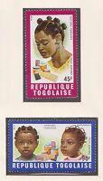 (TOB-25) 1969 Togo part 2set TOGOLAISE hair styles 45F & 90F MH