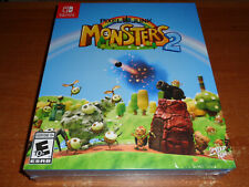 New PIXEL JUNK MONSTERS 2 Collector's Edition Limited Run #004 Nintendo Switch
