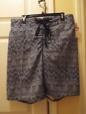 Route 66 Skull Bathing Suit Trunks Size XL NWT