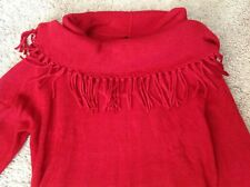 Women's New Directions Red sweater dress size L