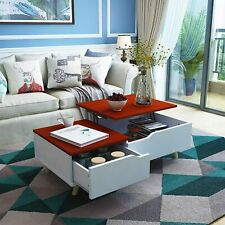 Lift Top Coffee Table W/ Hidden Storage Drawer&compartment Living Room1