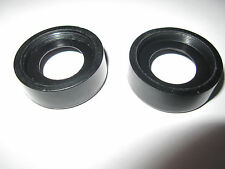 Vintage 2 Pcs Hard Plastice Eye Guards/Cup/Eyepiece (4D) 25mm Height=10.7 mm