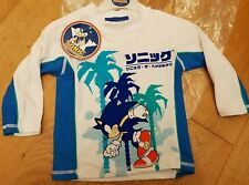 Boys Beach Swimming Rash Vest 4-5 years Sega Sonic the Hedgehog