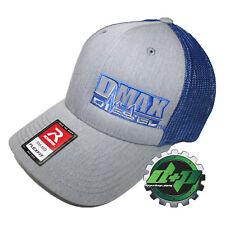 Dmax Duramax truck hat richardson 110 Gray denim BLUE mesh diesel S/M
