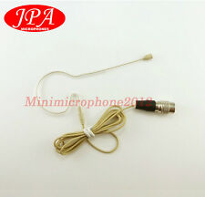 Beige Children Single Hook Headset Mic JPA Headworn FOR Audio Technica Wireless