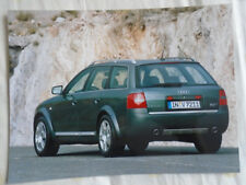 Audi allroad quattro 2.7T press photo Feb 2000 v3