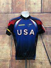 Voler Livestrong Lance Armstrong Foundation Team USA Full Zip Jersey Men's Sz M