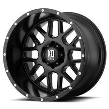 20 Inch Black Wheels Rims LIFTED Ford F250 F350 Super Duty XD Series XD820 20x10