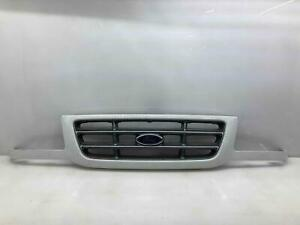 2001-03 Ford Ranger Grille w/ White Painted Surround (OEM YZ Code) Gray Argrent