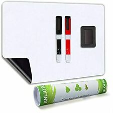 Magnetic Dry Erase Board Fridge White Sheet 20x13ampquot Easy To Write And Clean
