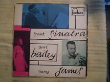 FRANK SINATRA PEARL BAILEY HARRY JAMES 45RPM TFE 17028 FONTANA RECORDS IMPORT